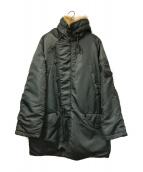 ()の古着「[OLD]N-3Bタイプコート」 ネイビー