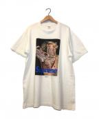 Supreme×Undercover(シュプリーム×アンダーカバー)の古着「コラボアナトミープリントTシャツ」|ホワイト