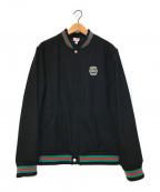 Supreme×LACOSTE(シュプリーム×ラコステ)の古着「コラボバーシティジャケット」|ブラック
