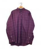 Christian Dior MONSIEUR(クリスチャンディオールムッシュ)の古着「[OLD]オールドチェックシャツ」|レッド