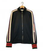 GUCCI()の古着「テクニカルジャージトラックジャケット」|ブラック