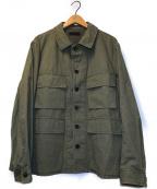 COLINA(コリーナ)の古着「オーバーニックコットンBDUジャケット」|オリーブ