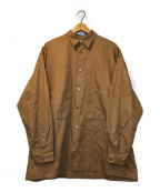 E.TAUTZ(イートーツ)の古着「LINEMAN SHIRT」|ブラウン