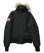 CANADA GOOSE(カナダグース)の古着「CHILLIWACK BOMBER JACKET」|ブラック