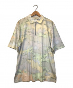 maison kitsune(メゾンキツネ)の古着「マルチカラーFOXジップS/Sポロシャツ」|ピンク