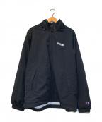 SUPREME×Champion(シュプリーム×チャンピオン)の古着「コラボトラックジャケット」|ブラック