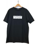 ()の古着「プリントTシャツ」 ブラック