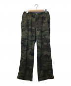 X-LARGE(エクストララージ)の古着「 WIDE EASY WORK PANTS」|グリーン