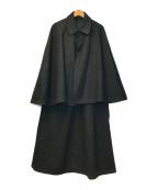 VINTAGE(ヴィンテージ)の古着「[OLD]ヴィンテージインバネスコート(トンビコート)」|ブラック