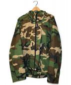 ()の古着「カモ柄ミラートンジャケット」|グリーン