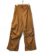 US ARMY(ユーエスアーミー)の古着「[OLD]90'sスノーカモ後染めカーゴパンツ」|ブラウン