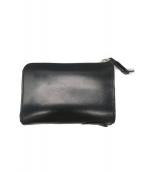 ()の古着「L字ファスナー折財布」 ブラック