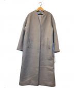 JOURNAL STANDARD(ジャーナルスタンダード)の古着「スーパー140ビーバーVネックコート」|グレー