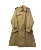 Burberry's(バーバリーズ)の古着「[OLD]80'Sヴィンテージ一枚袖トレンチコート」 ベージュ