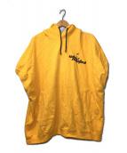 ()の古着「オーバーサイズノースリーブパーカー」 イエロー