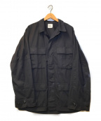 US ARMY(ユーエスアーミー)の古着「[OLD]90's BDUジャケット」|ブラック