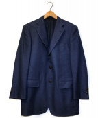 ()の古着「コットンウールテーラードジャケット」|ネイビー