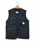 Carhartt WIP(カーハートダブリューアイピー)の古着「ユーディリティベスト」|ブラック