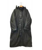 ()の古着「別注バーレーライディングコート」|ブラック