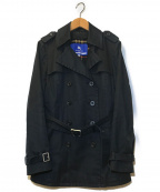 BURBERRY BLUE LABEL(バーバリーブルーレーベル)の古着「ライナー付トレンチコート」|ブラック