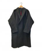 YANTOR(ヤントル)の古着「ドルマンコート」 ブラック