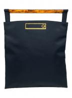 GIVENCHY(ジバンシィ)の古着「オールドハンドバッグ」|ネイビー