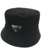 PRADA(プラダ)の古着「バケットハット」 ブラック
