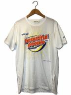 beautiful people(ビューティフルピープル)の古着「コットンジャージークリーニングロゴTシャツ」 ホワイト