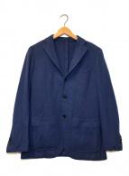 ()の古着「3Bウールテーラードジャケット」 ネイビー