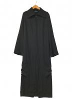 tricot COMME des GARCONS(トリココムデギャルソン)の古着「90'sエステル1Bシングルロングコート」 ブラック