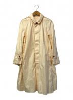 UNDERCOVER()の古着「ファックフィンガー比翼ロングシャツ」|ピンク