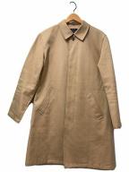A.P.C.(アーペーセー)の古着「ボンディングステンカラーコート」 ベージュ