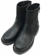 UGG(アグ)の古着「ポークサイドジップブーツ」 ブラック