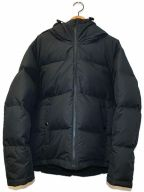 Traditional Weatherwear()の古着「サフムフォードフーデッドビッグダウンジャケット」 ブラック