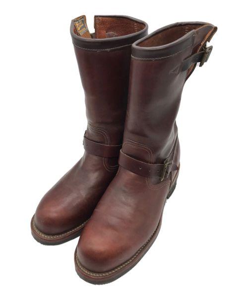 CHIPPEWA(チペワ)CHIPPEWA (チペワ) 11インチコードバンエンジニアブーツ ブラウン サイズ:10Eの古着・服飾アイテム