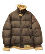 AVIREX()の古着「B-3タイプ中綿フライトジャケット」|ブラウン