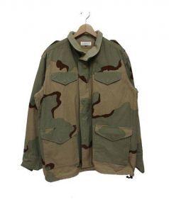 MACKDADDY(マックダディ)の古着「M65ジャケット」|オリーブ