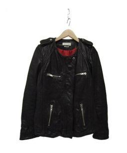 ISABEL MARANT ETOILE(イザベルマランエトワール)の古着「ラムレザージャケット」 ブラック