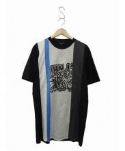 LANVIN(ランバン)の古着「プリントTシャツ」|ネイビー
