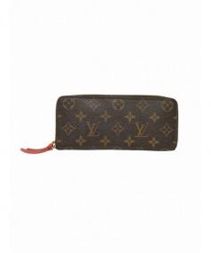 LOUIS VUITTON(ルイ・ヴィトン)の古着「ラウンドファスナー財布」|ブラウン