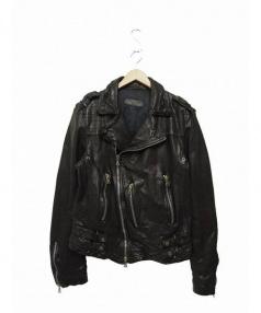 Neil Barrett(ニール バレット)の古着「ライダースジャケット」|ブラック