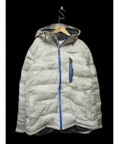 Columbia(コロンビア)の古着「パウダーダウンジャケット」|ホワイト×グレー