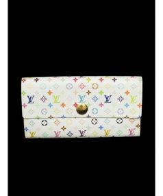 LOUIS VUITTON(ルイ・ヴィトン)の古着「長財布」|ホワイト