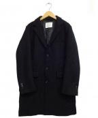 BAYFLOW(ベイフロー)の古着「チェスターコート」 ブラック