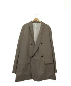 Edwina Horl(エドウィナホール)の古着「テーラードジャケット」|ベージュ