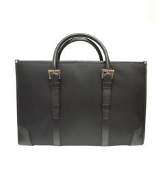 COMME CA MEN(コムサメン)の古着「ナイロンビジネスバッグ」 ブラック