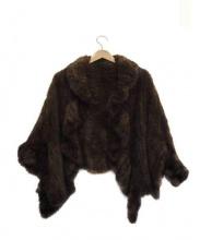 Aquascutum(アクアスキュータム)の古着「ミンクジャケット」 ブラウン