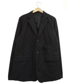 glamb(グラム)の古着「Damaged tailoredジャケット」|ブラック