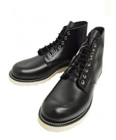 FREAKS STORE × RED WING(フリークスストア × レッドウィング)の古着「6inch Classic Round Toe ブーツ」|ブラック