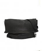 REN(レン)の古着「フラップジップメッセンジャーバッグ」|ブラック